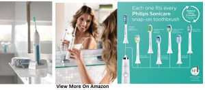 Philips Sonicare DiamondClean rechargeable electric toothbrush, White Edition