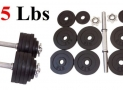One Pair of Adjustable Dumbbells Cast Iron Reviews