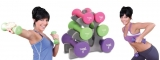 Tone Fitness 20 lb. Hourglass Dumbbell Set Reviews